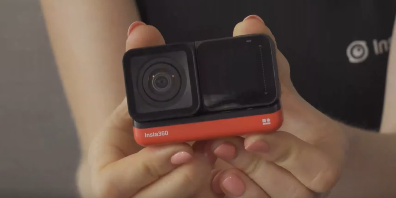 Insta360 One R, la cámara de acción modular que graba a 4K y en 360 grados