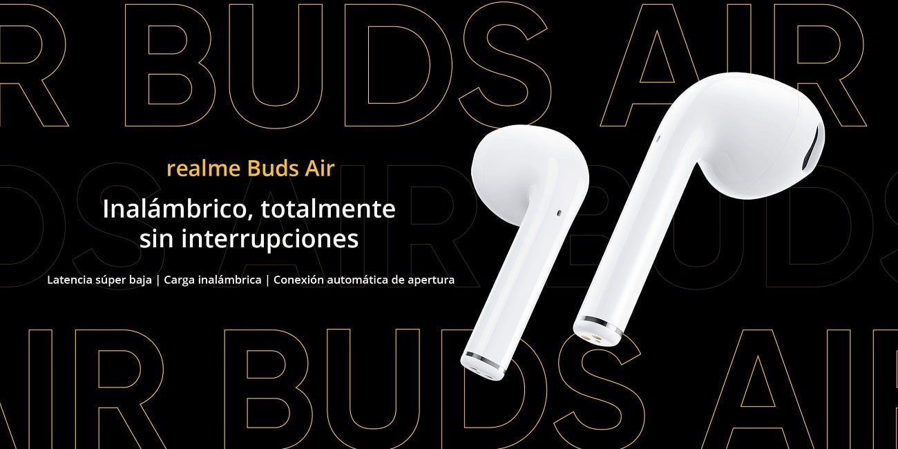 Realme Buds Air, los auriculares True Wireless con control por gestos