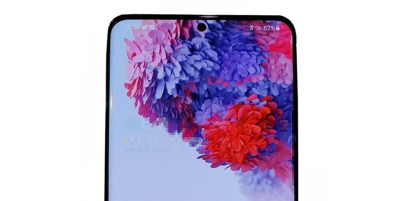 Samsung Galaxy S20+ 5G se filtra: las imágenes confirman 4 cámaras y pantalla plana