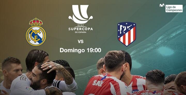 Imagen - Cómo ver online el Real Madrid vs Atlético de la Supercopa