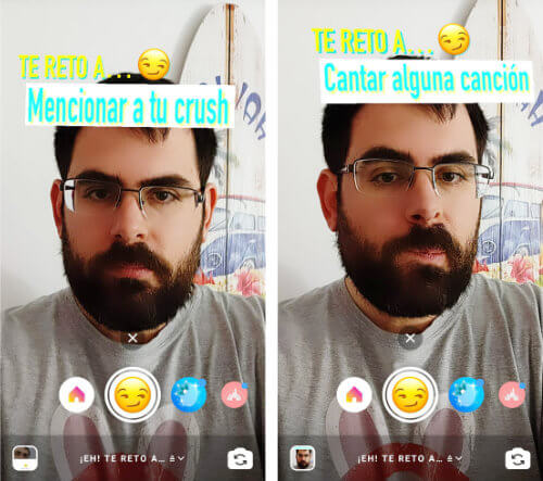 """Imagen - Cómo poner el filtro """"Te reto a..."""" en Instagram Stories"""