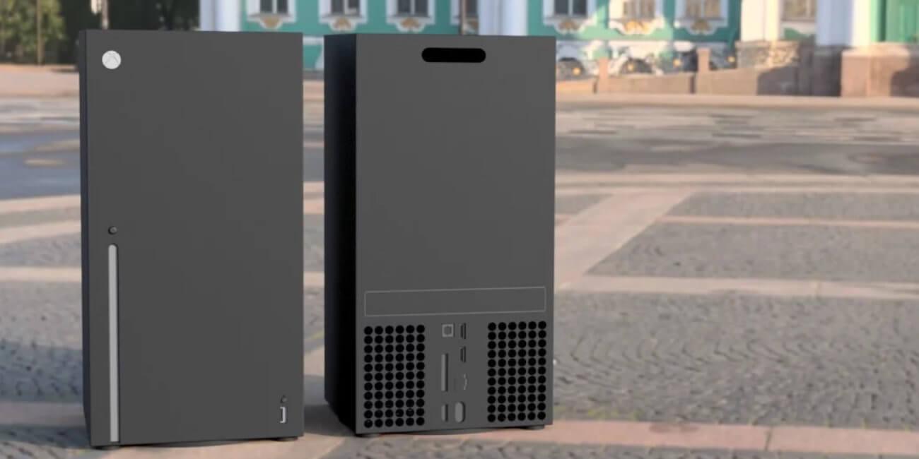 Así sería Xbox Series X: imágenes de todos los detalles, incluyendo los puertos