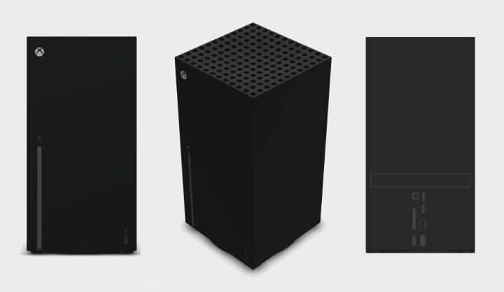 Imagen - Así sería Xbox Series X: imágenes de todos los detalles, incluyendo los puertos