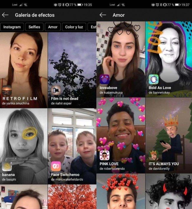 50 Filtros De San Valentín Para Instagram Stories