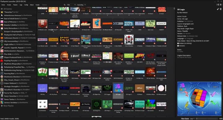 Imagen - Flashpoint, un emulador para juegos Flash antiguos