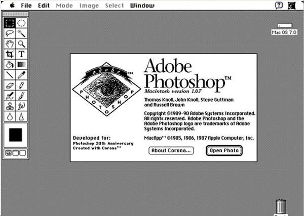 Imagen - ¿Cuándo se lanzó Photoshop?