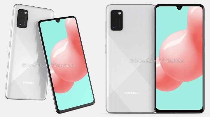 Imagen - Filtrado el posible diseño del Samsung Galaxy A41