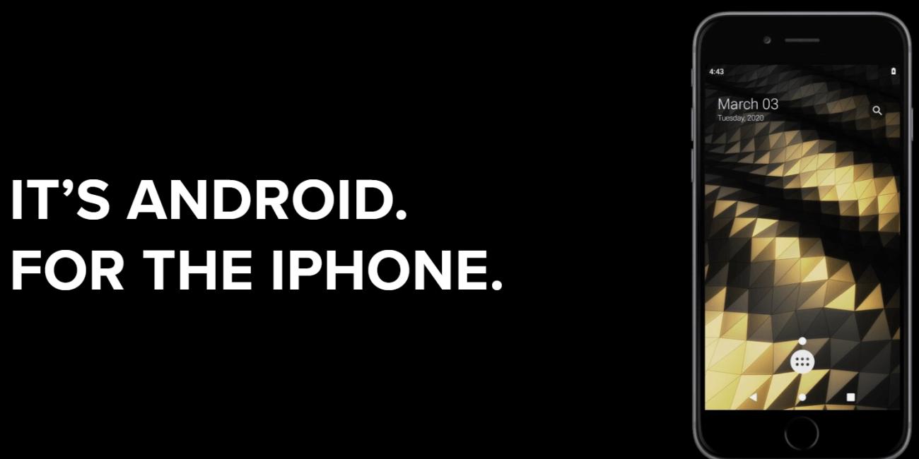 Ya se puede instalar Android en un iPhone