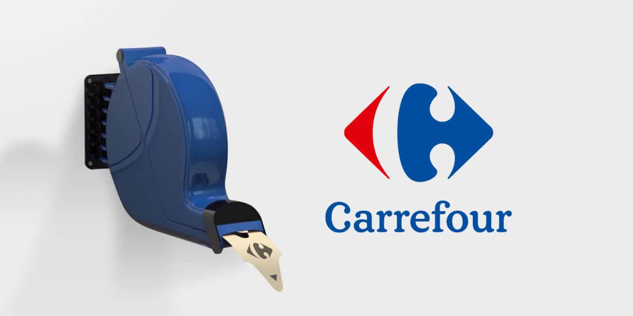 Carrefour ahora tiene una cola online para entrar a la web a comprar