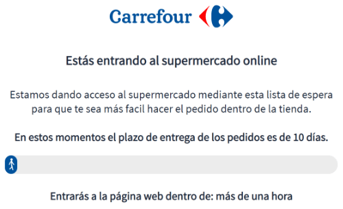 Imagen - Carrefour ya tiene cola online
