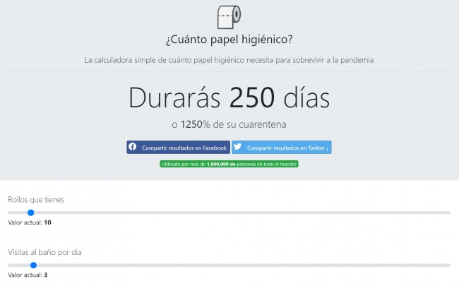 Imagen - Lanzan una web para saber cuánto papel higiénico comprar