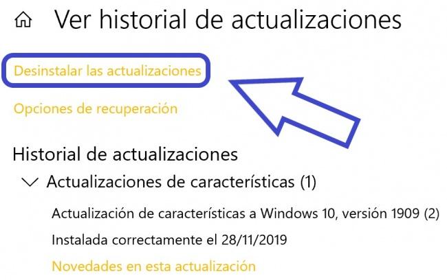 Imagen - KB4535996: la actualización da problemas en Windows 10