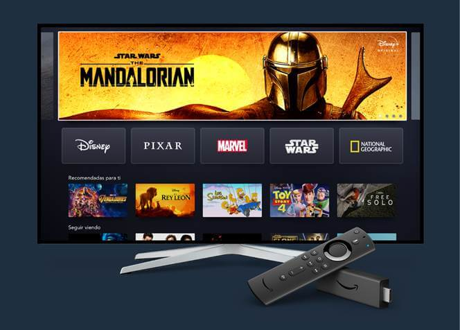 Imagen - Disney+ ya es compatible con Amazon Fire TV