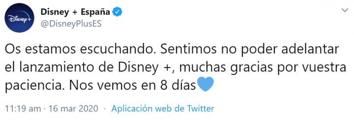 Imagen - Disney+: su lanzamiento se podría posponer