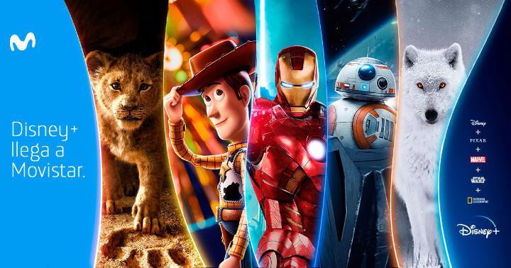 Imagen - Movistar confirma Disney+ para sus clientes