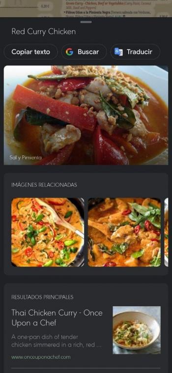 Imagen - Google Lens llega a Maps: analiza cartas de restaurantes
