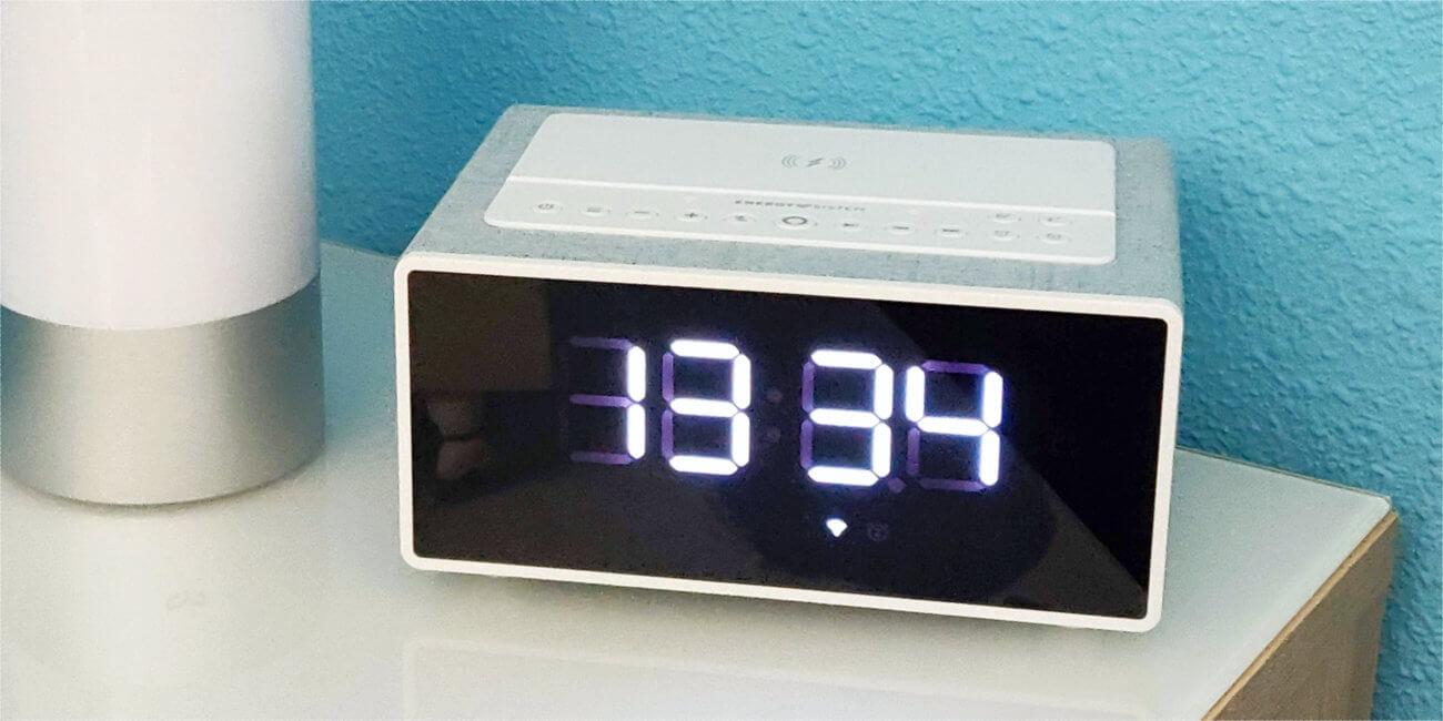 Review: Smart Speaker Wake Up, el despertador inteligente con Alexa de Energy Sistem