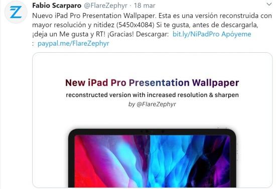 Imagen - Descarga los fondos del iPad Pro (2020)