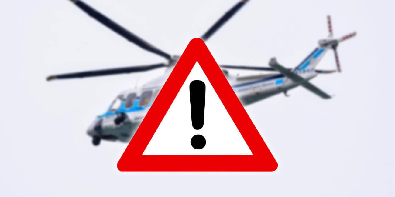 Virales de WhatsApp: el helicóptero del Ejército que pulveriza las ciudades de noche