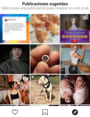 Imagen - Cómo ver posts de Instagram en una videollamada