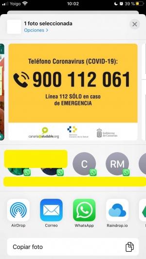 Imagen - WhatsApp en iOS 13: ya sugiere contactos al compartir