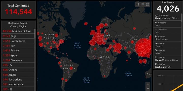 Imagen - Mapas coronavirus en tiempo real: así puedes seguirlo