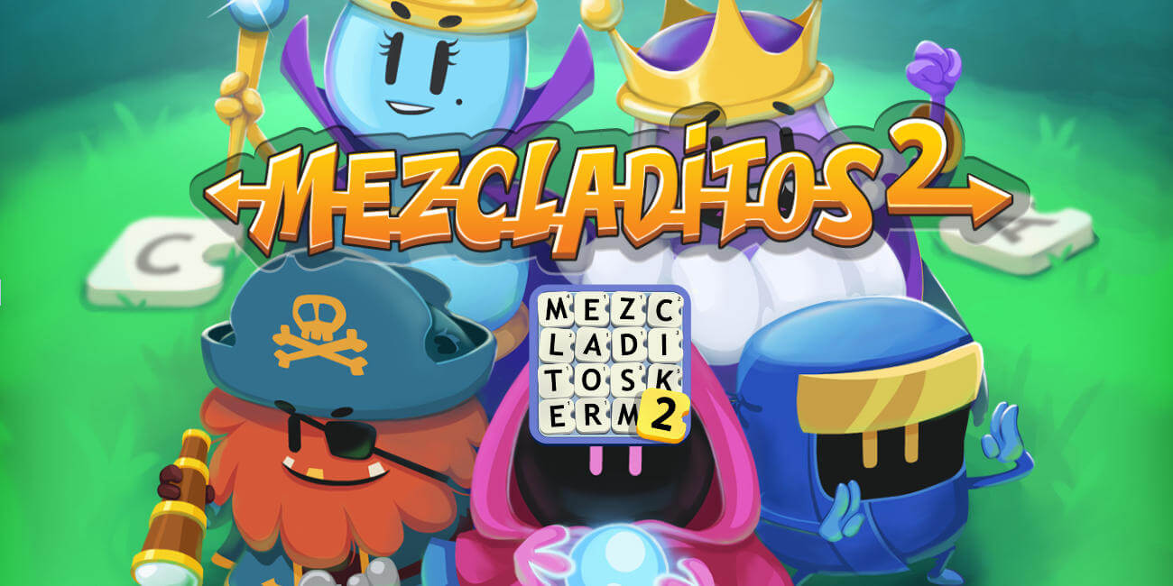 Descarga Mezcladitos 2, el juego de palabras cruzadas de los creadores de Apalabrados