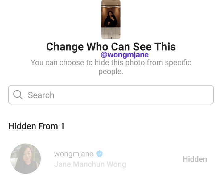 Imagen - Instagram Stories: ocultarlas para ciertas personas