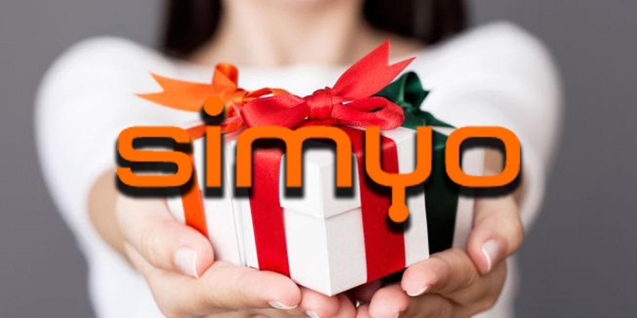 Simyo regala otro bono de 10 GB para ayudarnos en la cuarentena