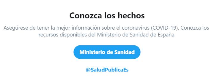 Imagen - El Gobierno responderá dudas sobre el coronavirus en Twitter