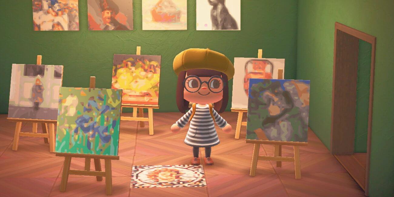 Animal Crossing: ya puedes llevar cuadros clásicos de van Gogh o Rembrandt al juego