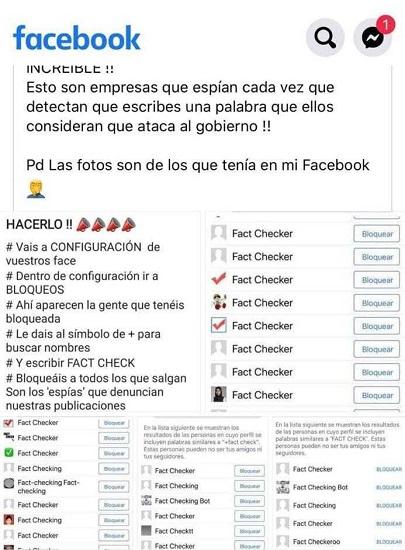 Imagen - Bulo en WhatsApp sobre empresas de Facebook que espían