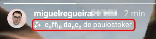 """Imagen - Cómo poner el filtro de """"los bailarines del ataúd"""" en IG"""