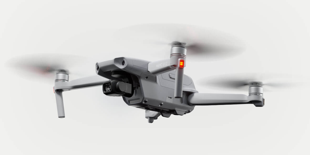 Mavic Air 2: el nuevo dron plegable de DJI graba vídeo 4K a 60 fps