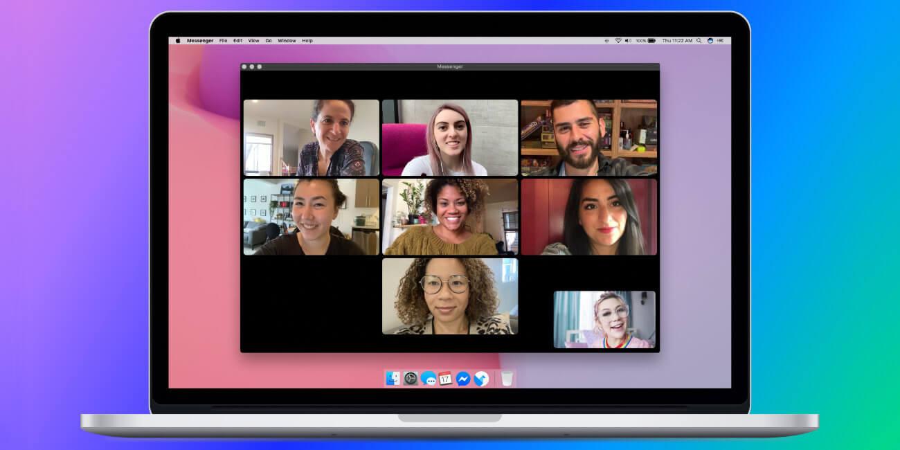Ya puedes hacer videollamadas en Facebook Messenger desde PC y Mac