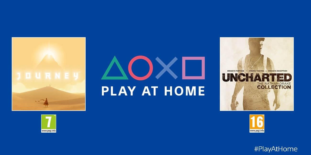 Juegazos gratis: Sony regala la saga Uncharted y Journey para PS4 por la cuarentena
