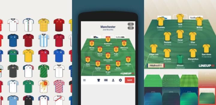 Imagen - Lineup11, crea tu propia alineación de fútbol en móviles
