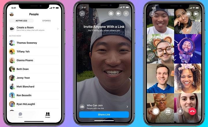 Imagen - Facebook Messenger Rooms: videollamadas de 50 personas