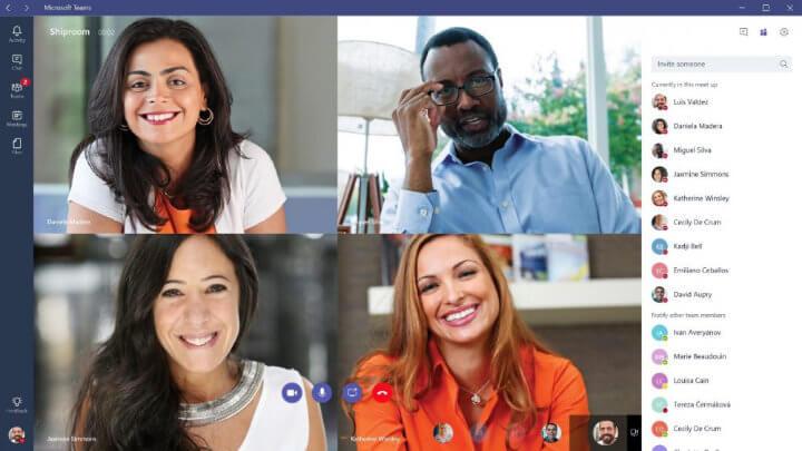 Imagen - Cómo ver todas las caras en Microsoft Teams