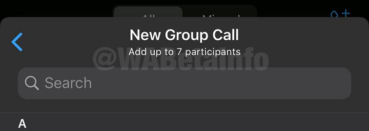 Imagen - WhatsApp ya permite videollamadas de hasta 8 participantes