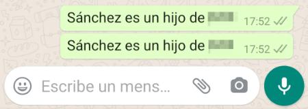 """Imagen - Bulo en WhatsApp: """"las reincidencias tienen penas de cárcel"""""""