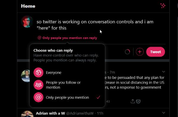 Imagen - Twitter permitirá elegir quien te puede responder
