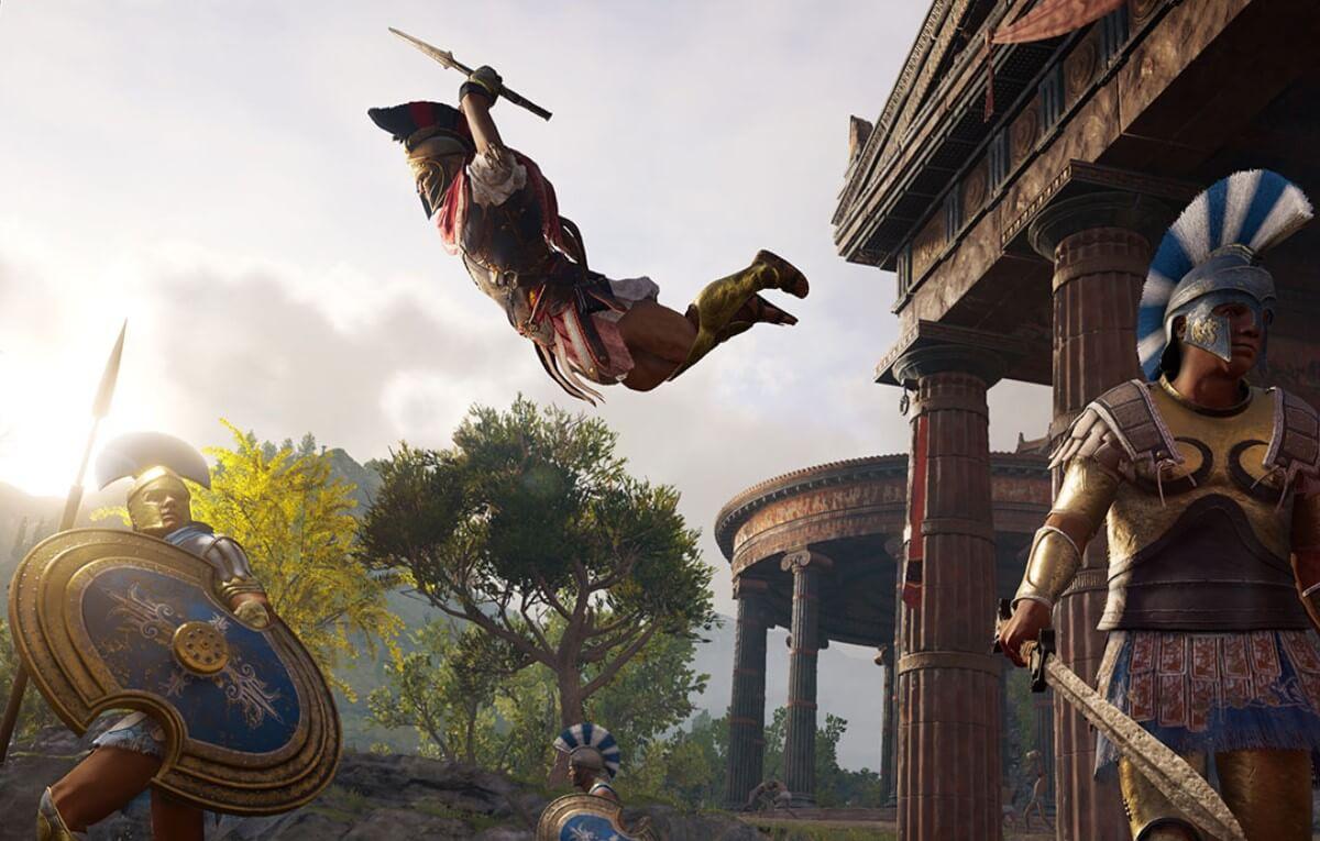 Aprende la historia de Egipto y Grecia con los tours gratuitos de Assassin's Creed