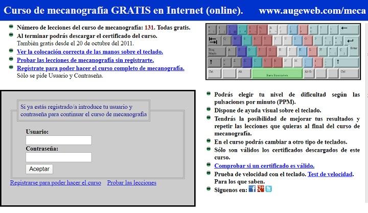 Imagen - 10 cursos gratis de mecanografía online