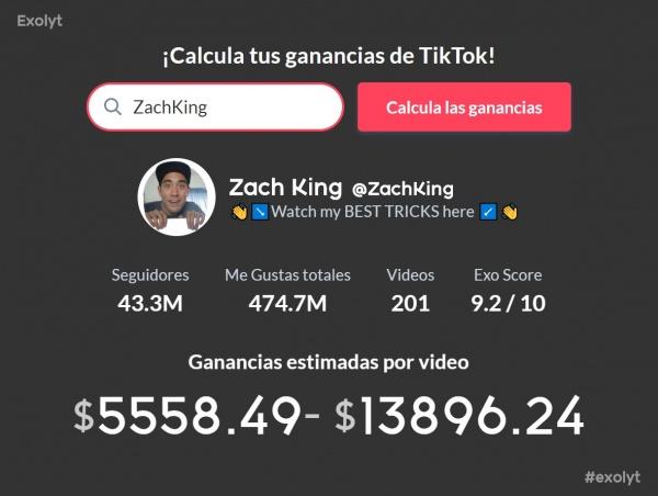 Calculadora De Tiktok Cuánto Se Gana