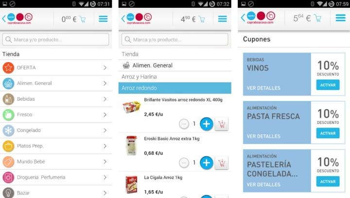 Imagen - 21 apps de supermercados para comprar desde el móvil