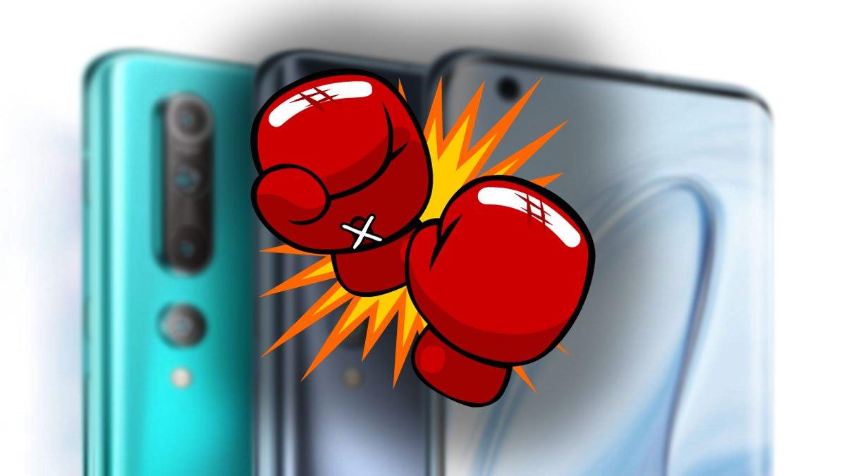 Comparativa: Redmi Note 9S vs Xiaomi Mi 10