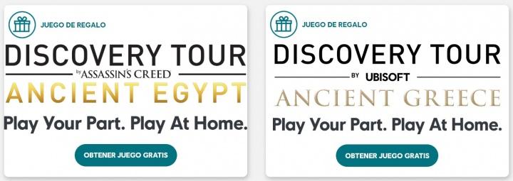 Imagen - Assassin's Creed: tours educativos gratis de Grecia y Egipto