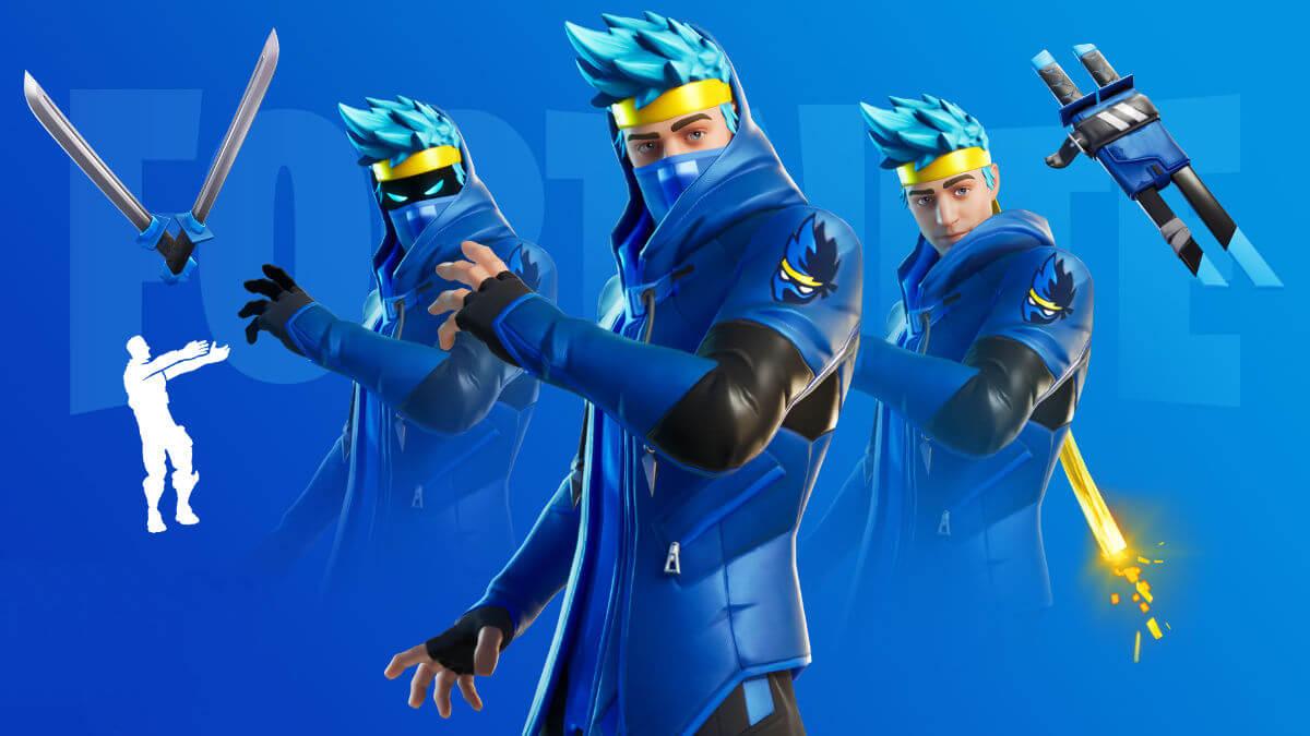 Regresa la skin de Ninja a Fortnite