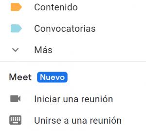 Imagen - Google Meet se integra en Gmail
